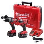 Tool Deal! Milwaukee M18 Fuel Hammer Drill / Impact Driver Combo Kit $344.99