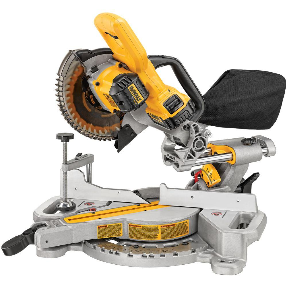 Dewalt 20v max miter saw dcs361m1 spotted tool craze dcs361m1 tool craze 1 greentooth Image collections