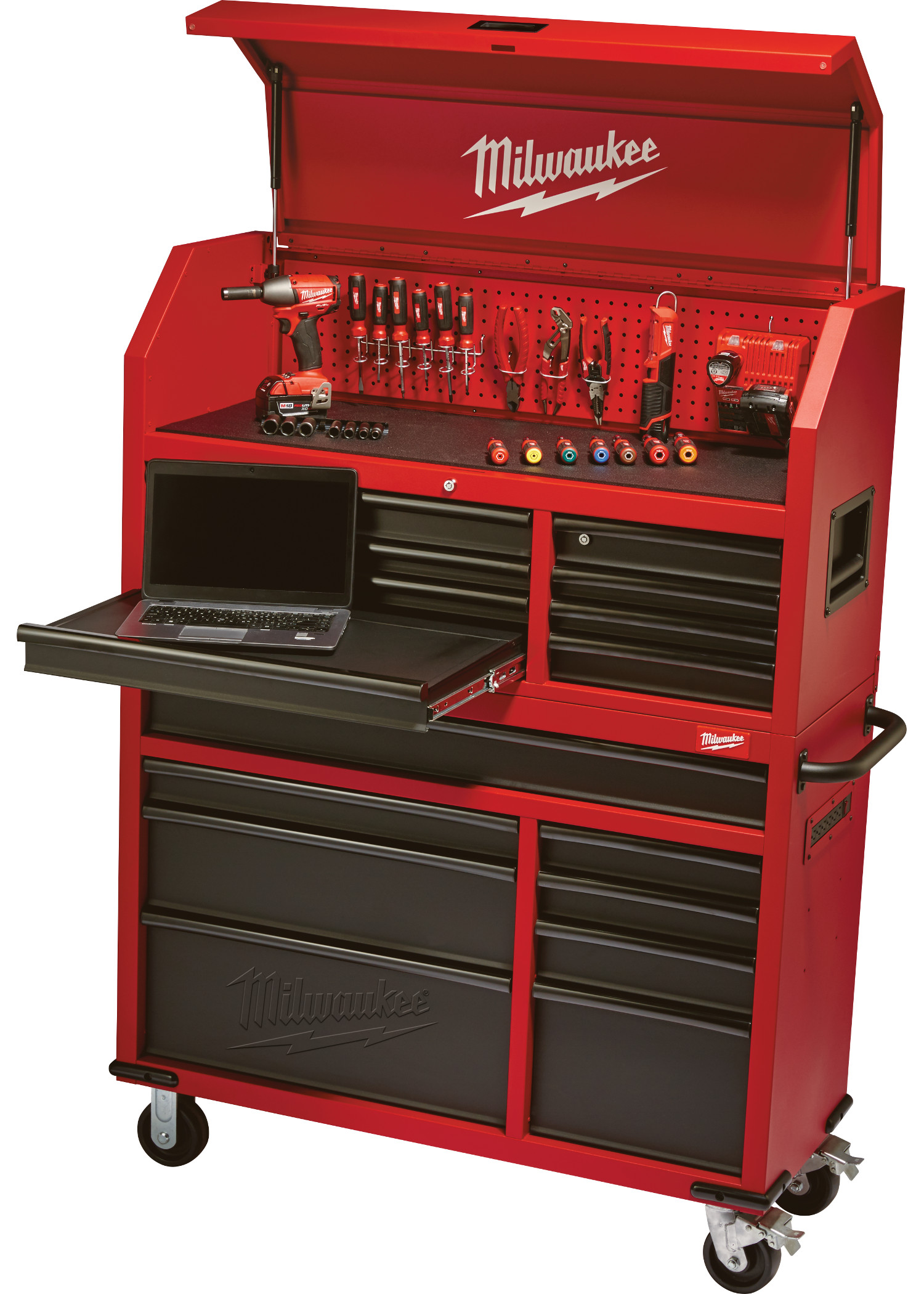 New Milwaukee 46 Steel Storage Chest And Cabinet