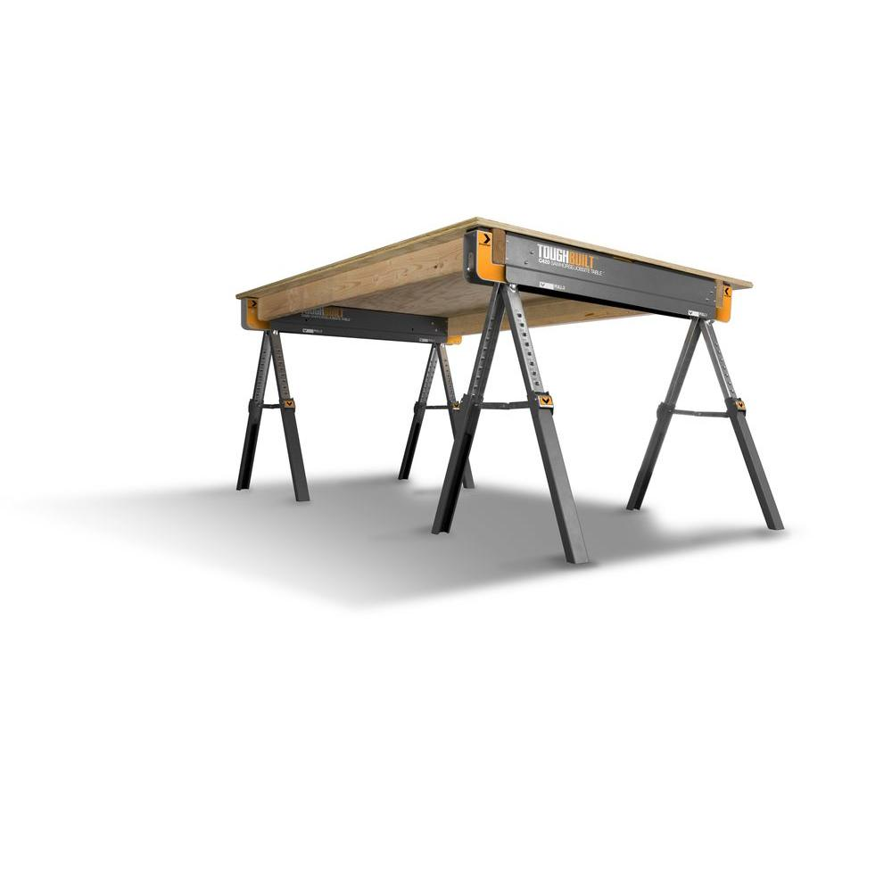 Toughbuilt Metal Folding Sawhorses - Tool Craze