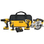 Tool Deal – DeWalt 4 piece 20V Max Tool Combo $249 – Today only