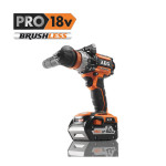 AEG (Ridgid) 18V Brushless Combi Drill with removable chuck system