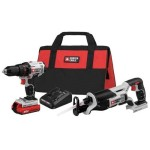 Crazy Deal – Porter-Cable Drill Driver and Reciprocating Saw Kit $85