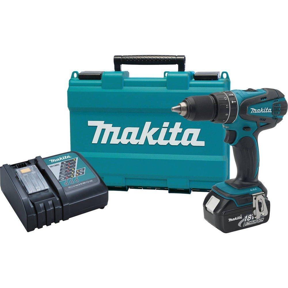 Deal Makita 18v 1 2 Hammer Drill Kit 99 Tool Craze