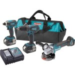 Crazy Deal – Makita 18V 3pc Combo kit w/ Brushless Grinder $229