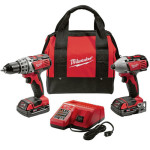 Crazy Deal – Milwaukee M18 18V Li-Ion 2-Tool Combo Kit $150