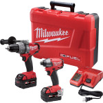 Crazy Deal – Milwaukee M18 FUEL Hammer Drill/Impact Driver Kit $315