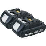 Deal – Makita 18V Compact 2.0Ah Battery, 2-Pack $80