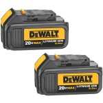 Deal – DEWALT 20-Volt 3.0 Ah Battery 2-Pack $99