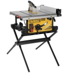 Crazy Deal- DEWALT DWE7490X 10″ Job Site Table Saw with Stand $400 – EXPIRED