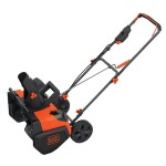 Black + Decker 40V Brushless 21″ Snow Thrower