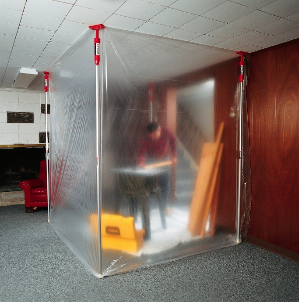 Zip Wall Temporary Walls And Dust Containment Tool Craze
