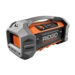 RIDGID GEN5X 18V Jobsite Radio with Bluetooth R84087