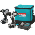 Deal – Makita 18V Drill Driver/Impact Driver Combo Kit CT200RW $149