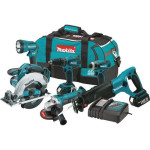 Deal – Makita 18V Cordless 6 pc. Combo Kit XT601 $400