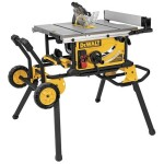 Deal – Dewalt Jobsite Table Saw with Rolling Stand DWE7491RS – $499