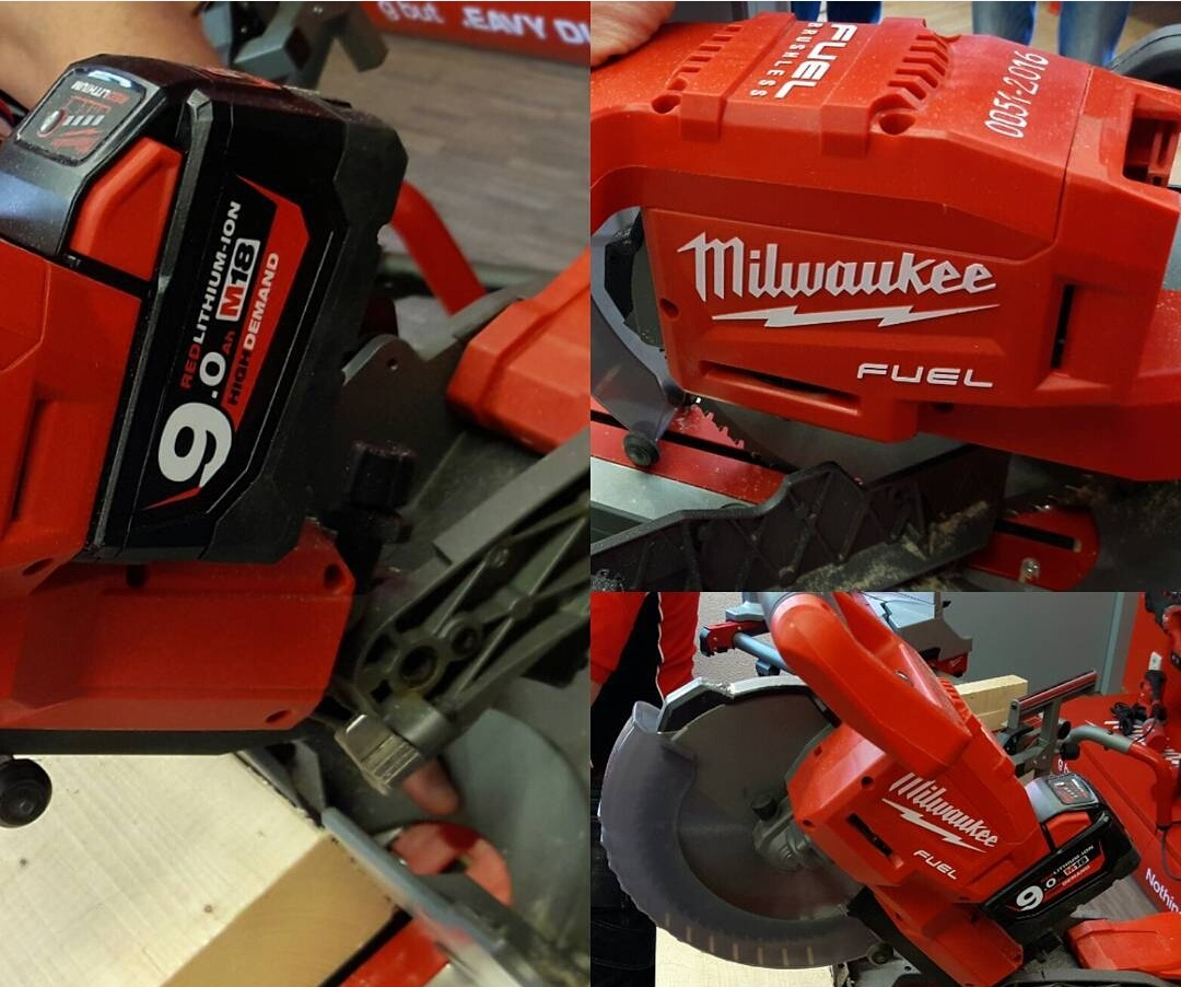 Milwaukee Cordless Brushless M18 Fuel Miter Saw Spotted