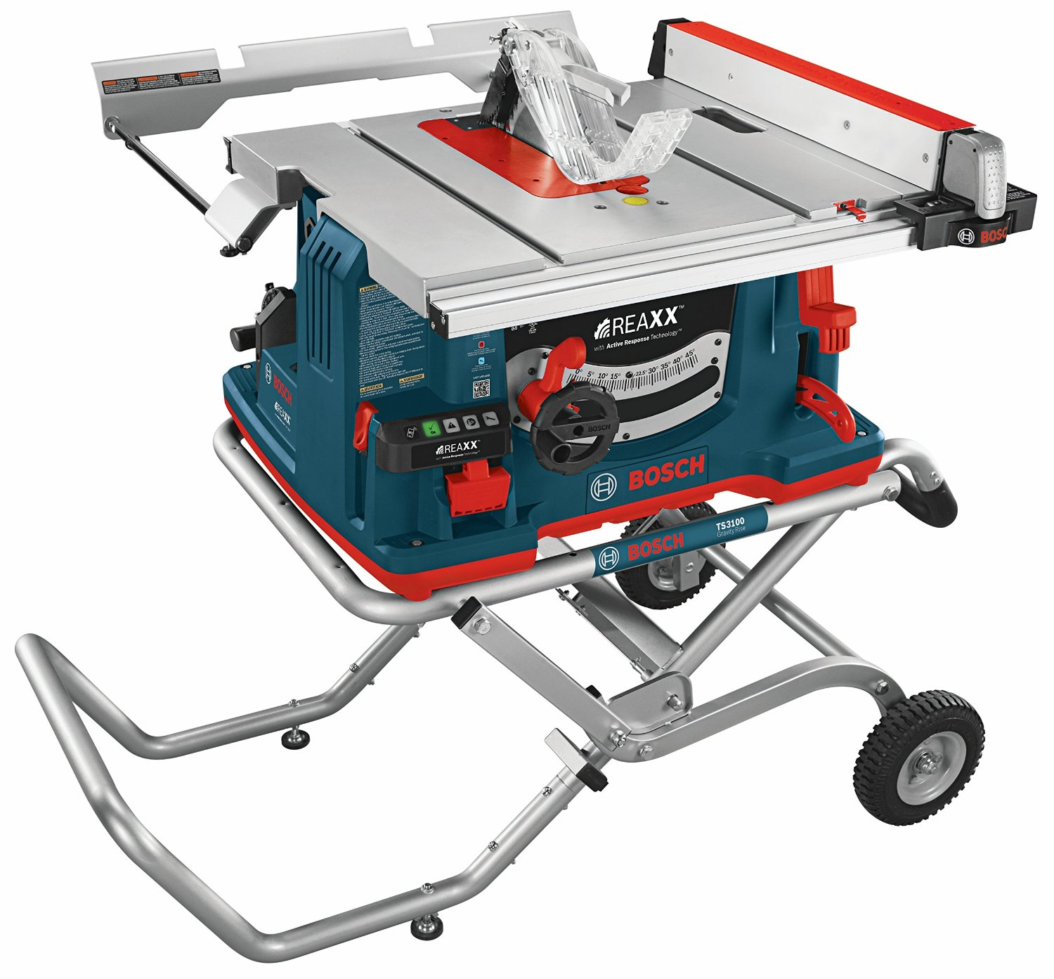 Bosch gts1041a reaxx table saw with active response for 10 table saw harbor freight