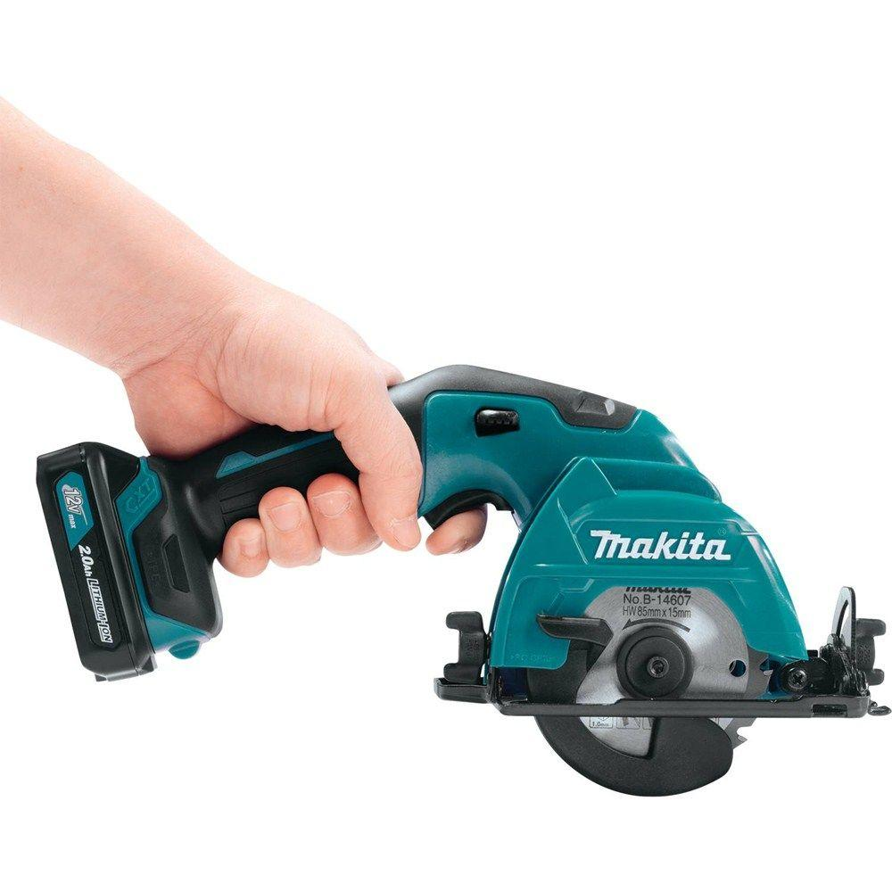 New makita cxt 12v circular saw sh02r1 uses a 3 38 blade tool craze makita sh02r1 grip greentooth Image collections