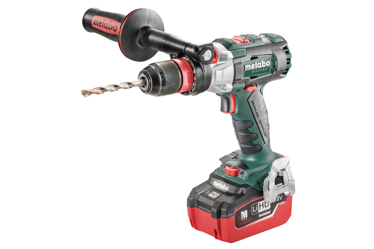 metabo enters the high torque club with it 39 s 1062 in lbs torque brushless hammer drill sb 18 ltx. Black Bedroom Furniture Sets. Home Design Ideas