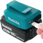 Makita 18V Power Source – Dual USB 2.1amp outputs for your Mobile Devices
