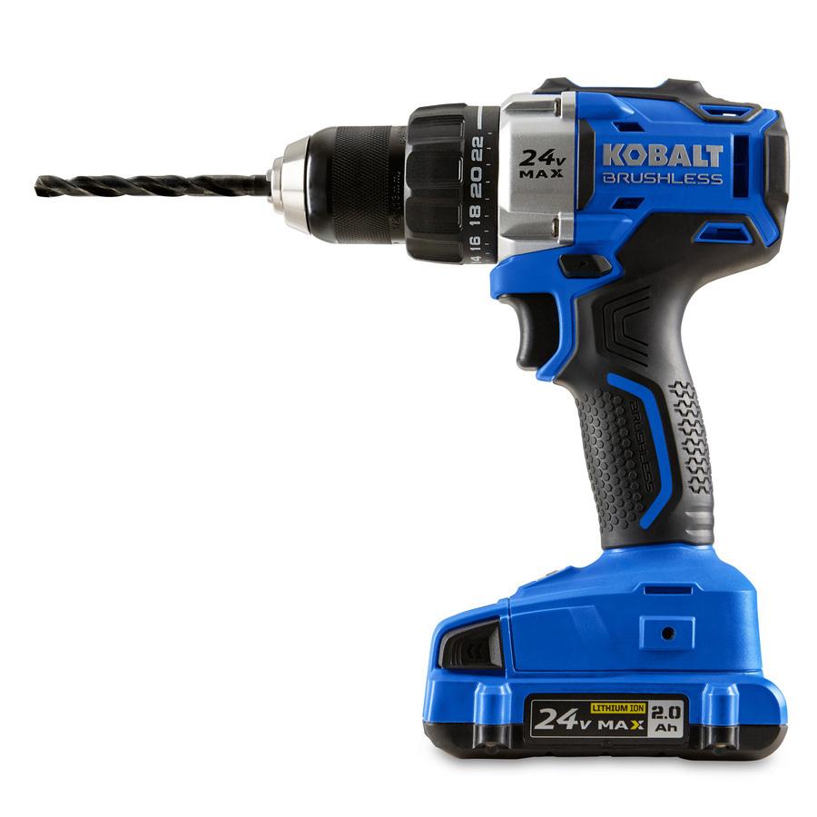 Kobalt 24V drill