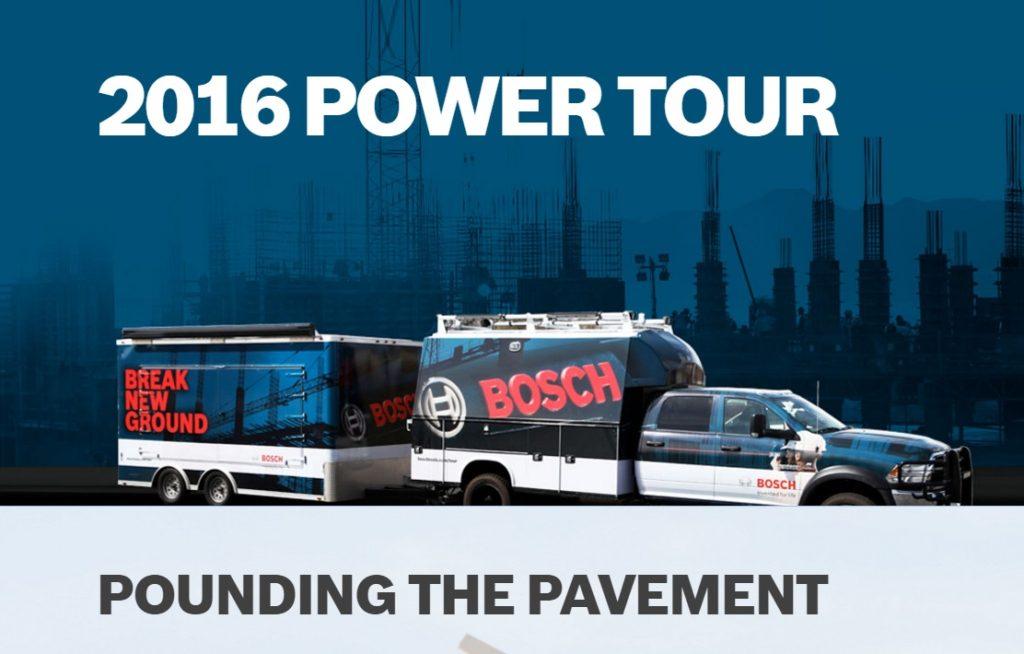 bosch 2016 power tour 1