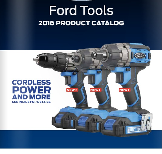 1 2 Cordless Impact >> New Ford 12V & 20V Cordless Power Tools + Hand Tools & Electric Power Tools - Tool Craze