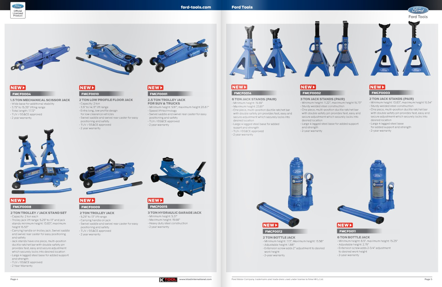 New Ford 12v Amp 20v Cordless Power Tools Hand Tools