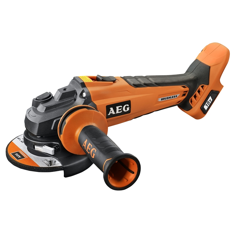 aeg ridgid 18v brushless 5 angle grinder and 6 ah battery tool craze. Black Bedroom Furniture Sets. Home Design Ideas