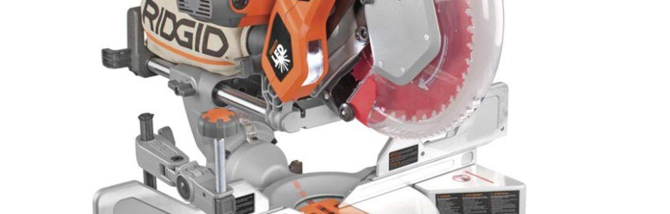 New Ridgid 18V Brushless 7-1/4″ Sliding Miter Saw