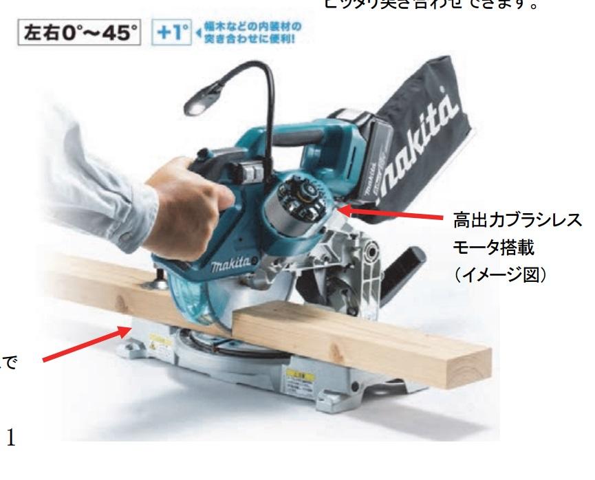 Makita LS600D front side tool craze
