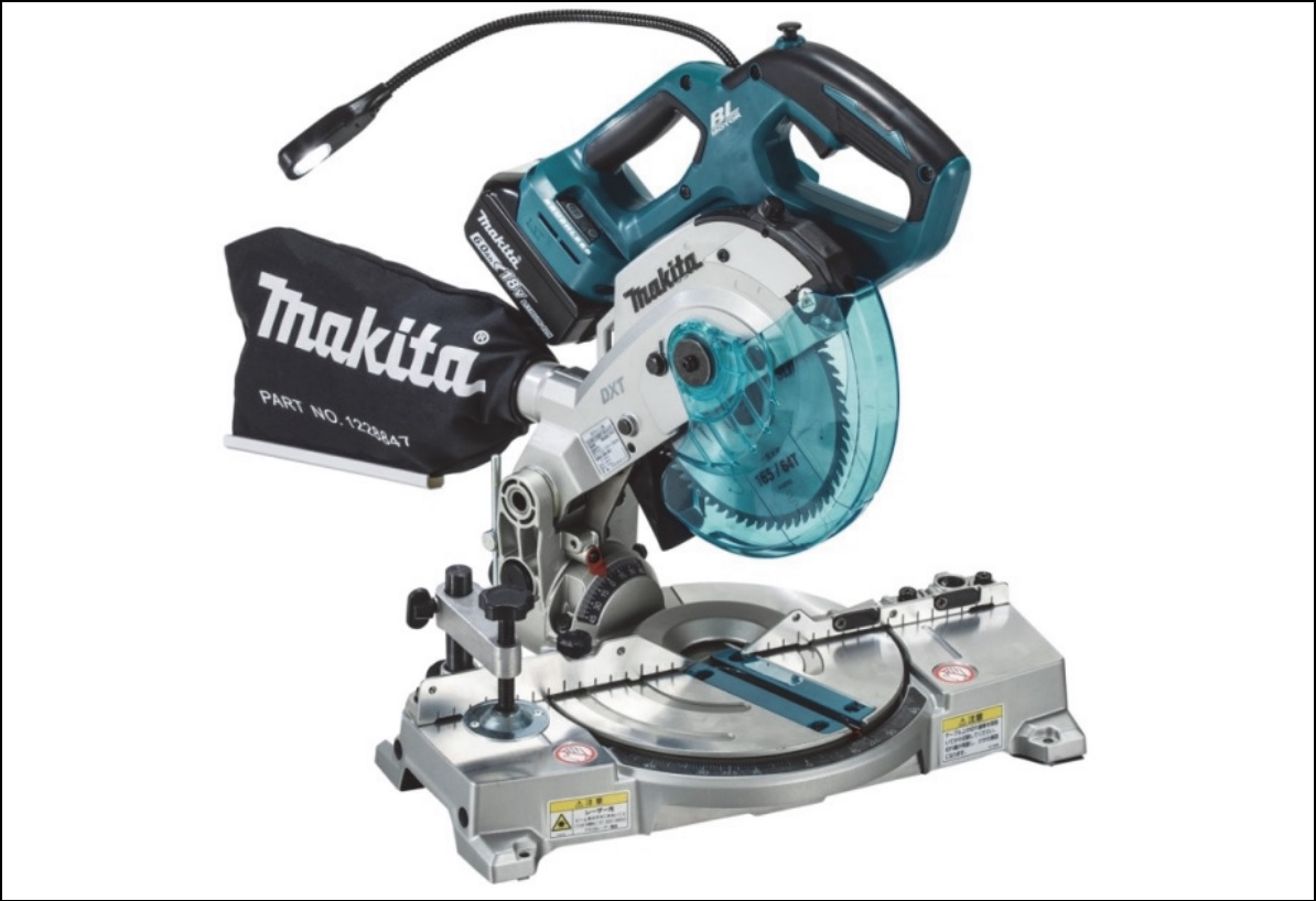 New makita 18v brushless 6 12 miter saw ls600d tool craze makita ls600d front tool craze greentooth Image collections