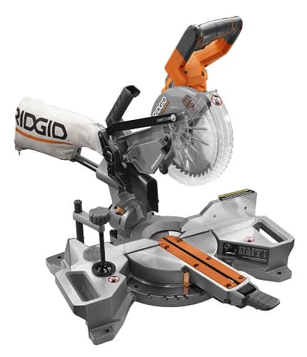 Ridgid 18V Brushless 7-1/4″ Dual Bevel Sliding Miter Saw R48607B