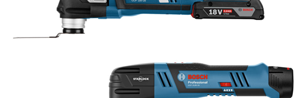 New Bosch Cordless 18V and 12V Oscillating Multitools with Starlock Mount Spotted