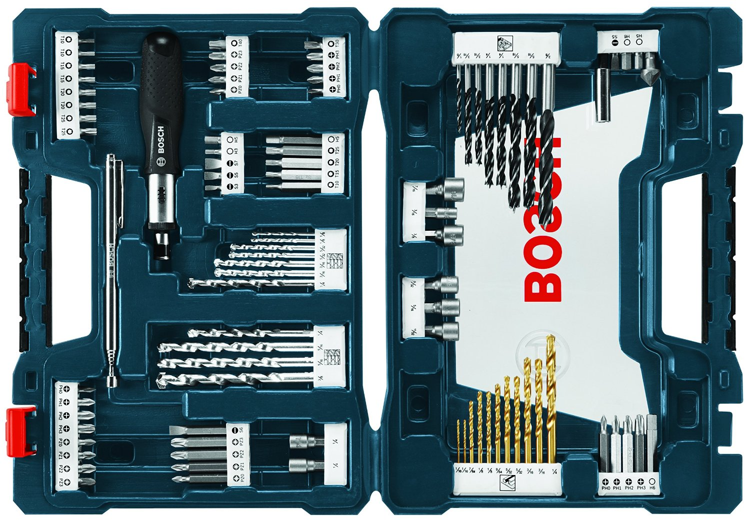Deal Bosch Ms4091 91 Piece Drill And Drive Set 23 34