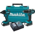 Deal – Makita 18V Compact Lithium-Ion Cordless Combo Kit $230