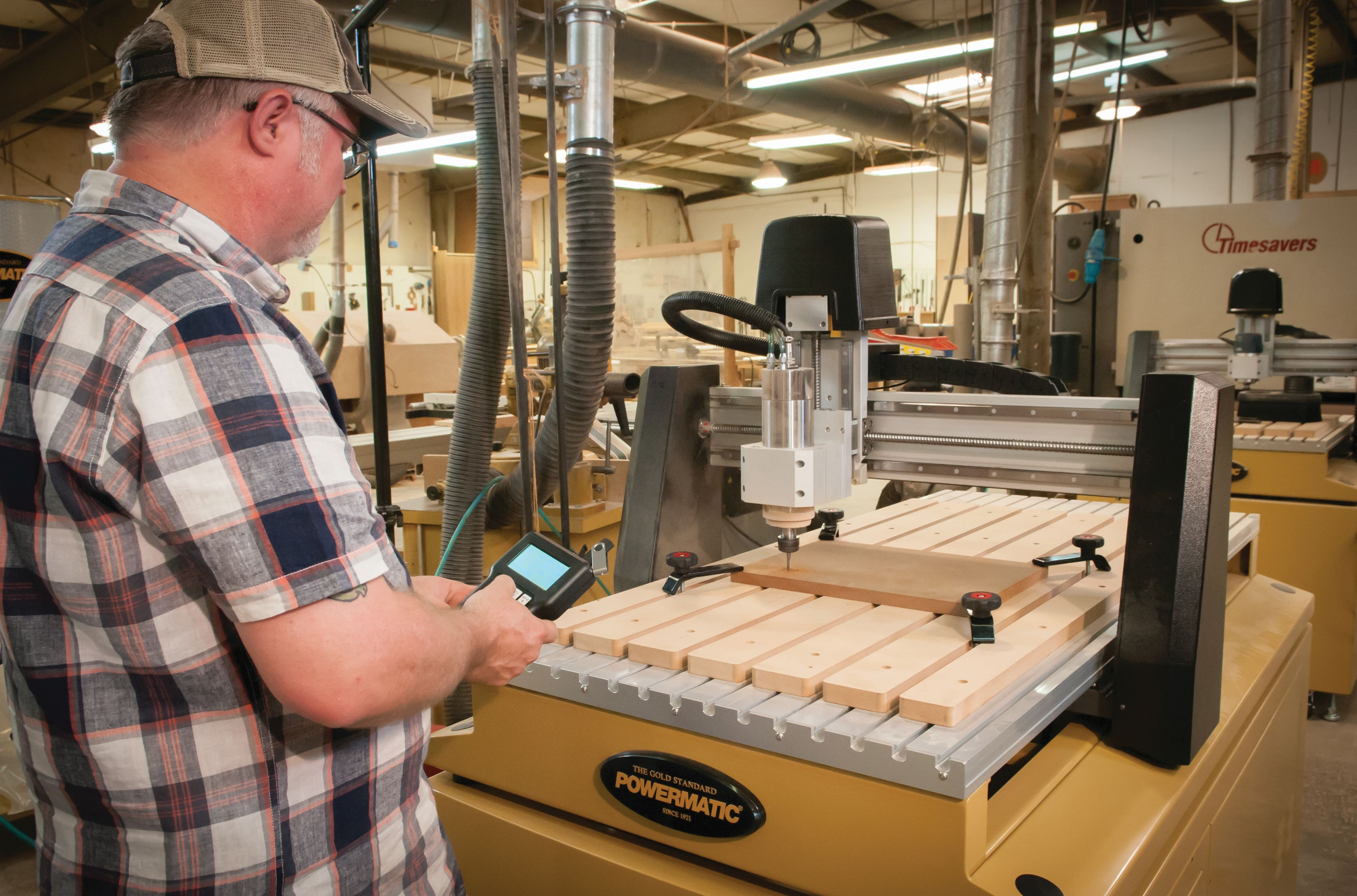 2 New Mid Size Cnc Woodworking Routers From Powermatic