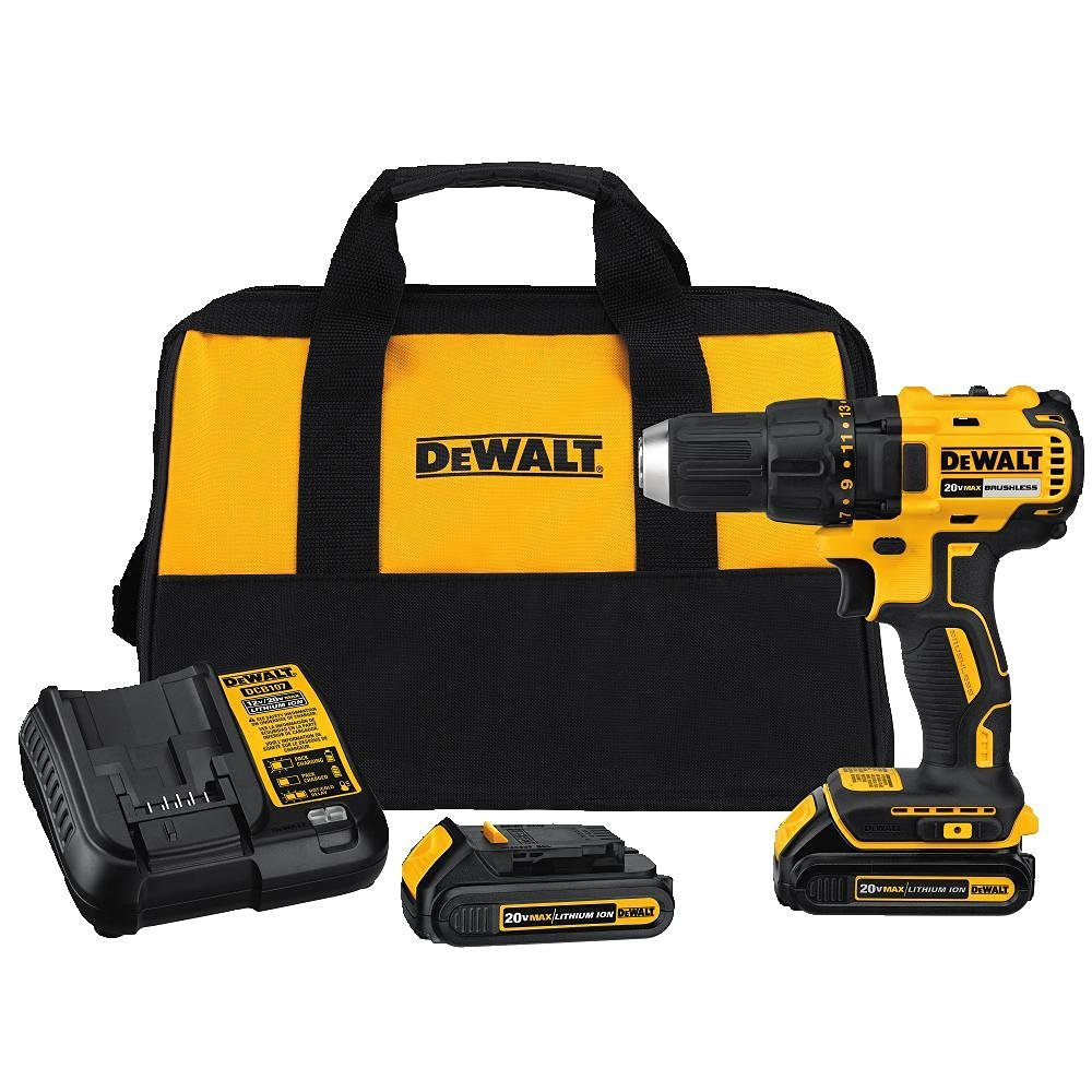 New budget dewalt 20v brushless drill dcd777 and impact for Dewalt 20v brushless motor