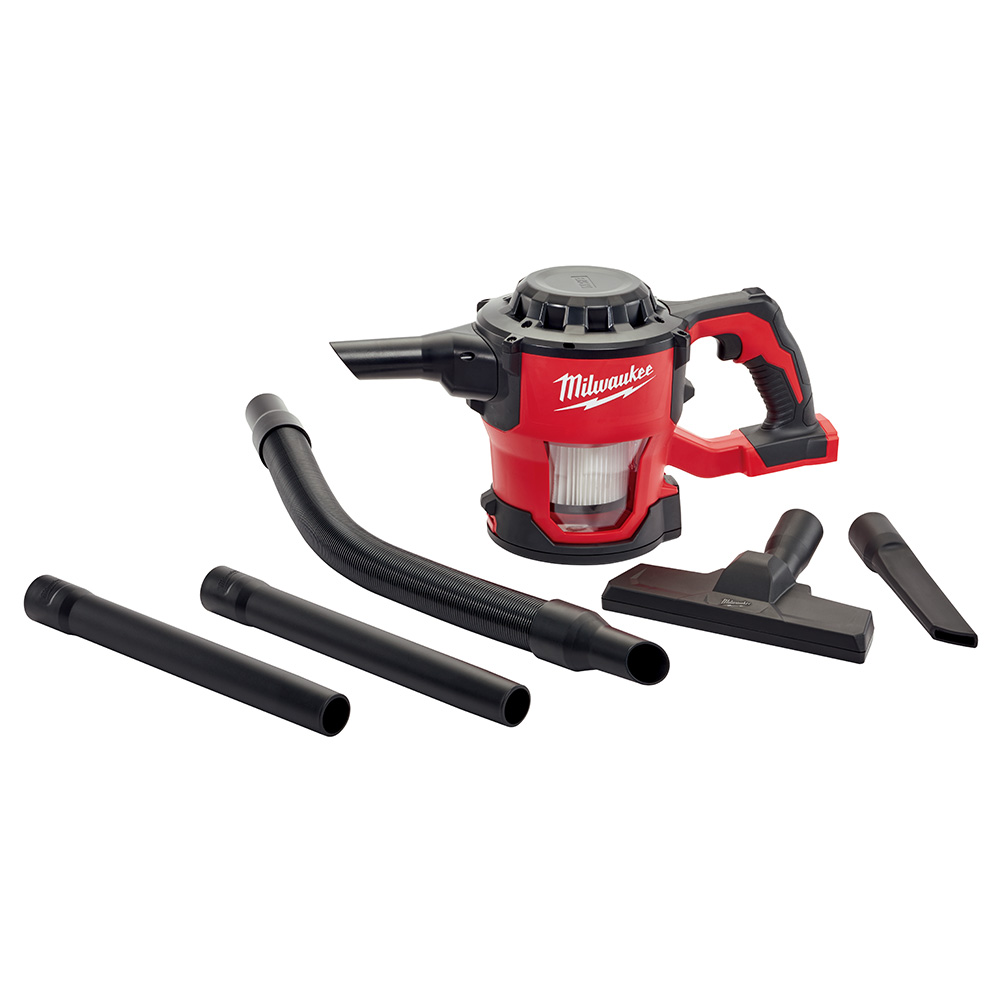 milwaukee m18 compact vacuum portable handheld 18v canister vac tool craze. Black Bedroom Furniture Sets. Home Design Ideas
