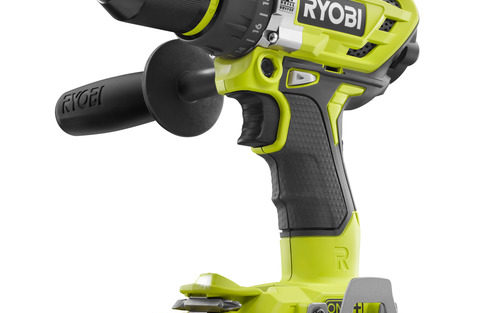 Ryobi 18V Brushless Hammer Drill P1813 arrives in USA and it's a beast!