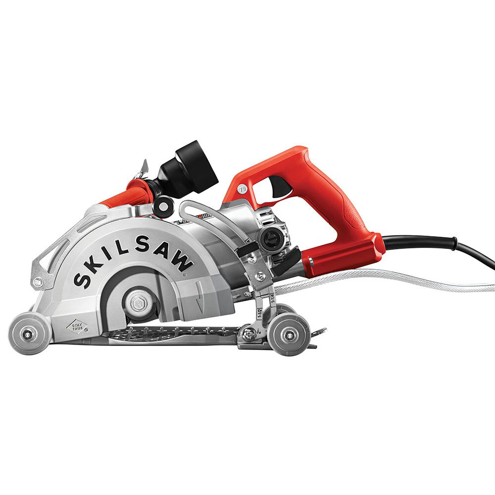 Skilsaw medusaw concrete cutting worm drive circular saw tool craze according to skilsaw users would have to purchase all sorts of attachments and accessories to make their skilsaw worm drive circular saws into concrete greentooth