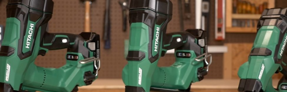 3 New Hitachi 18V Brushless Finish Nailers – 18ga 16ga 15ga