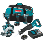 Deal – Makita 18V 5 Tool Combo kit $299 Today Only 11/14
