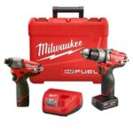 Deal – Milwaukee M12 Fuel Hammer Drill & Impact Driver Combo Kit – $169.95