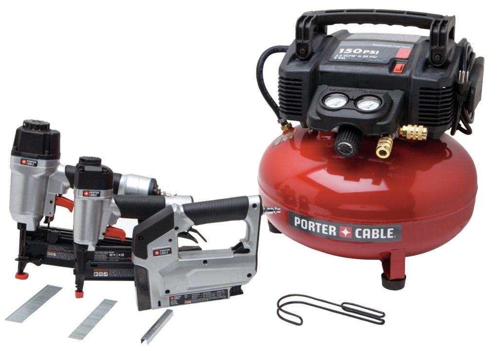 Deal - Porter Cable Compressor & 3 Nailer Stapler Combo Kit $199 ...