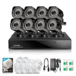 Expired Deal – Zmodo 1080P 8 Channel 8 Ip Camera sPoE NVR Surveillance System $279.99