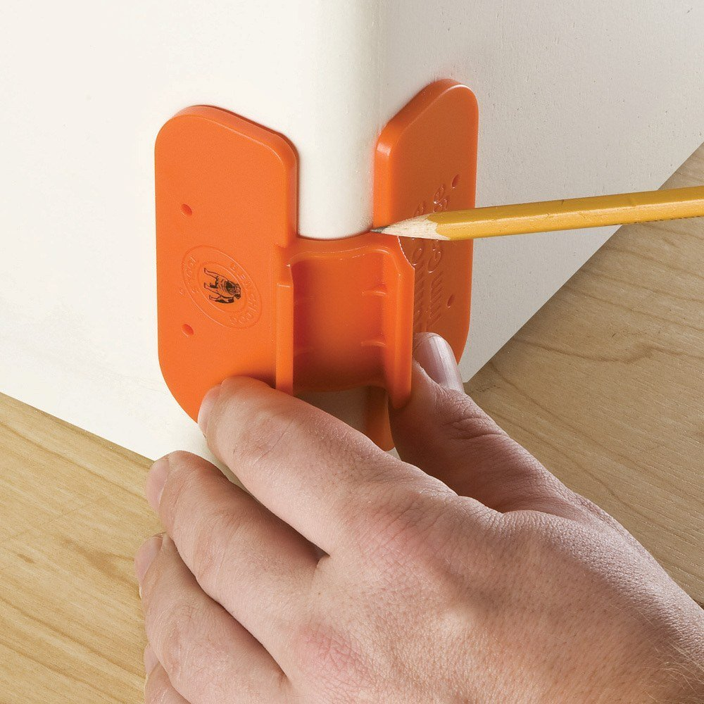 Bullnose Drywall Corners : Bench dog bullnose trim gauge make easy miters on