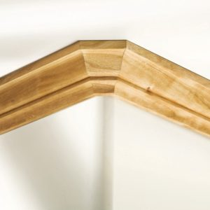 INFILM Bullnose Trim Gauge,Durable Practical Contour Corner Bullnose Trim Meter Baseboard Corner Marker Tool Wood Working Marking Flush Trim Jig