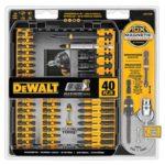 Deal – Dewalt DWA2T40IR FlexTorq Impact Ready 40-Piece Screw Driving Set $19.99